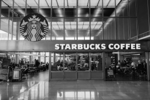 Une franchise Starbucks