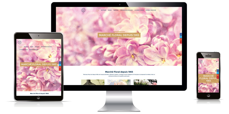 Site Monceau Fleurs by Magdy TALLA
