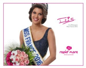Partenariat Miss France - Rapid'Flore